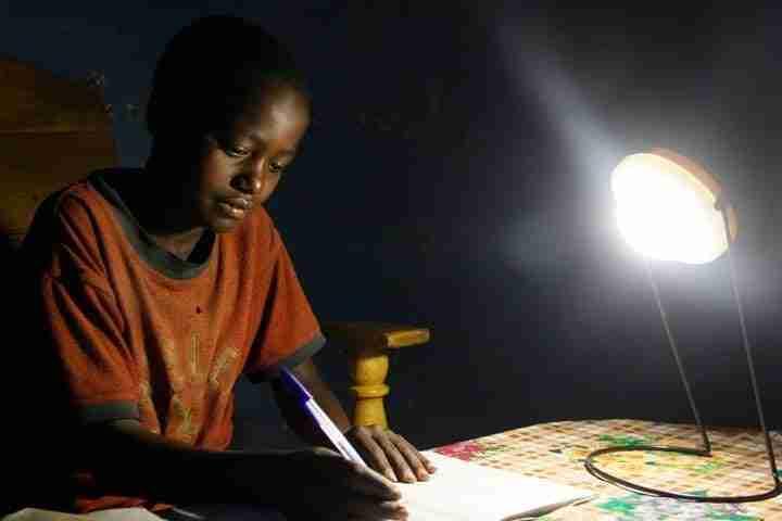 Ethiopia Solar Power Lamp