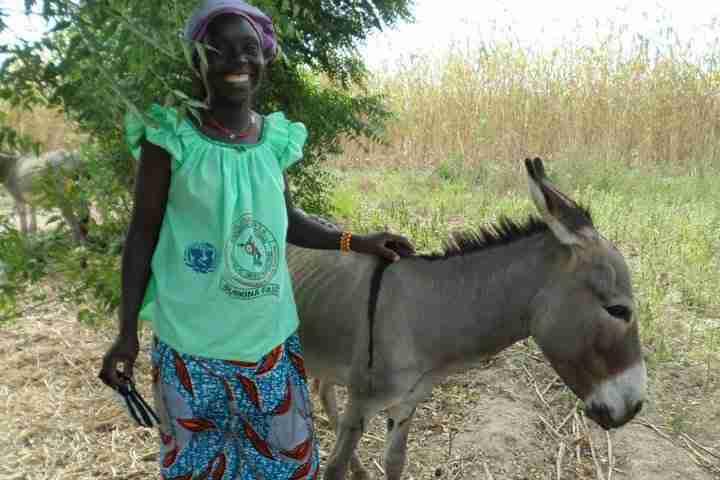 Woman VSLA Ana Burkina