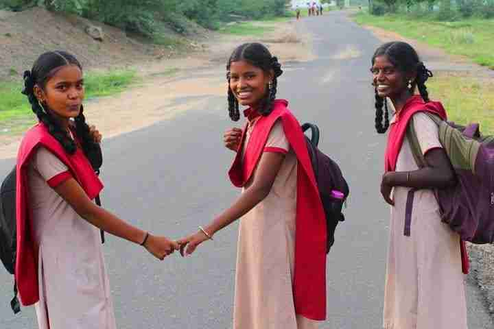 Schoolgirls in India