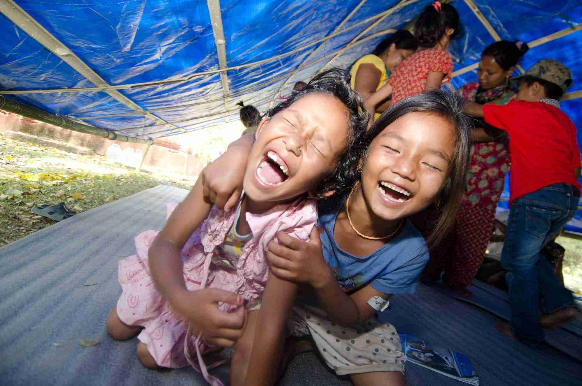 Child-centred space in Nepal
