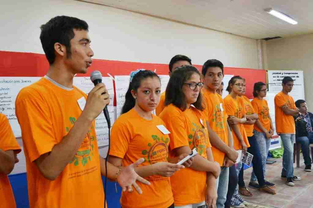 Youth advocate for change