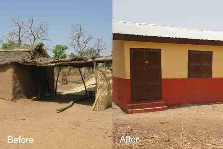 New school in Sukaya Ghana