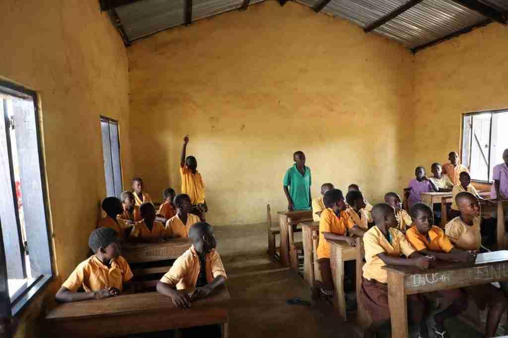 Ghana classroom
