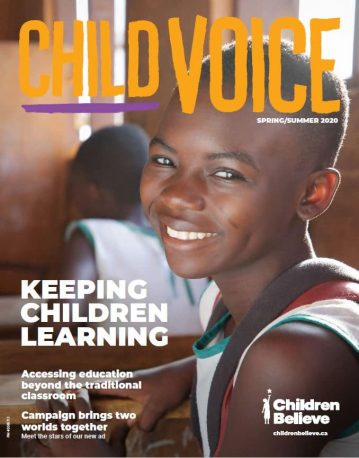 Spring/Summer 2020 cover of ChildVoice