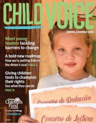 Child voice Spring 2018 image